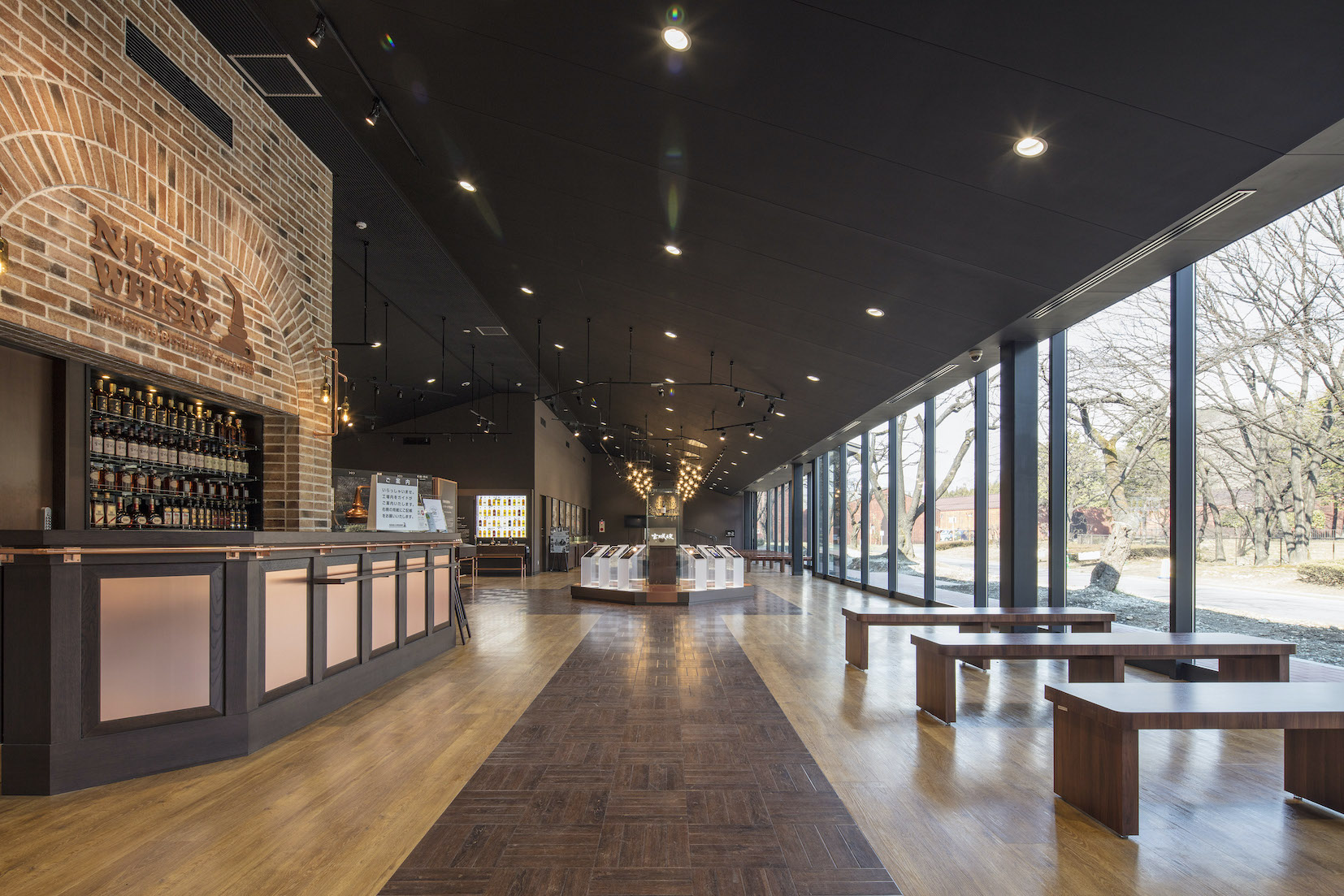 Nikka Whisky's museum, tour and tasting room are free and open to the public.