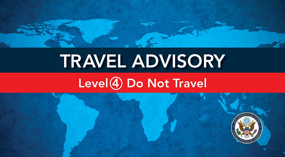 Level 4: Do Not Travel Warning Issued Over Coronavirus