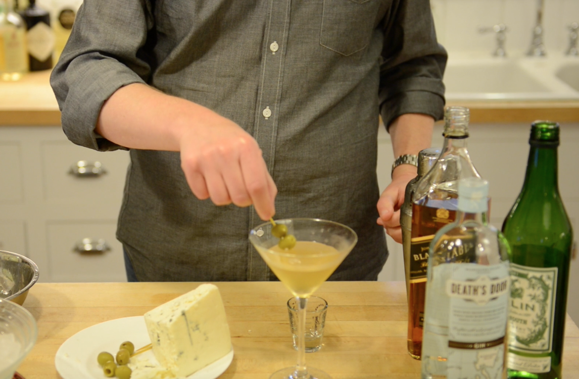 Cocktails At Home: The Mad Men Inspired Smokey Martini