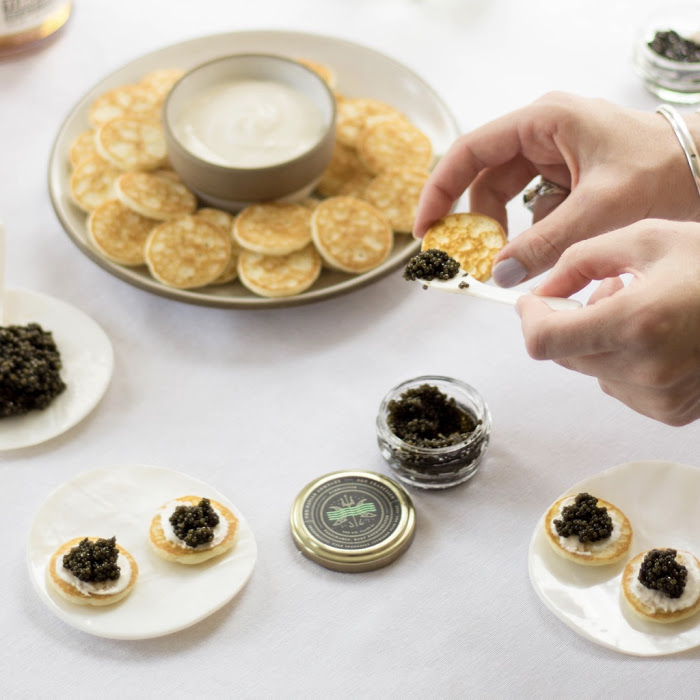 Luxury at Home: Virtual Caviar Tasting
