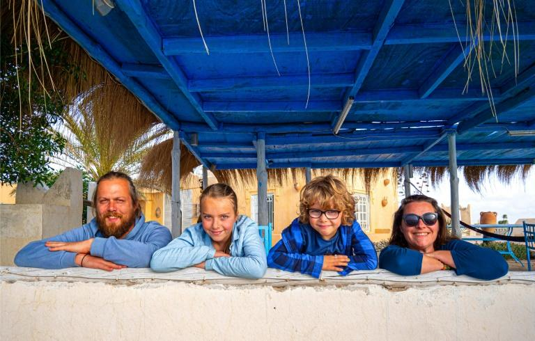 Traveling Family 'Stuck' In Paradise Due To Covid-19