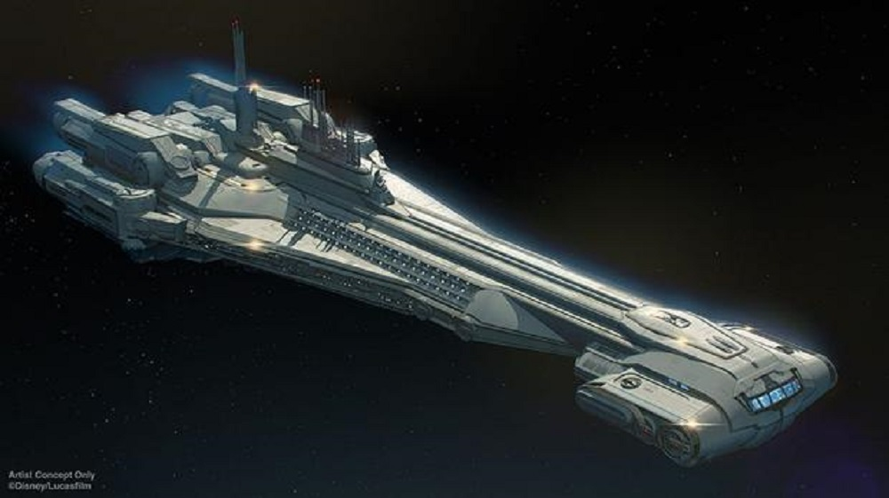 Disney Resorts to Launch Out of This World Star Wars Space Cruise