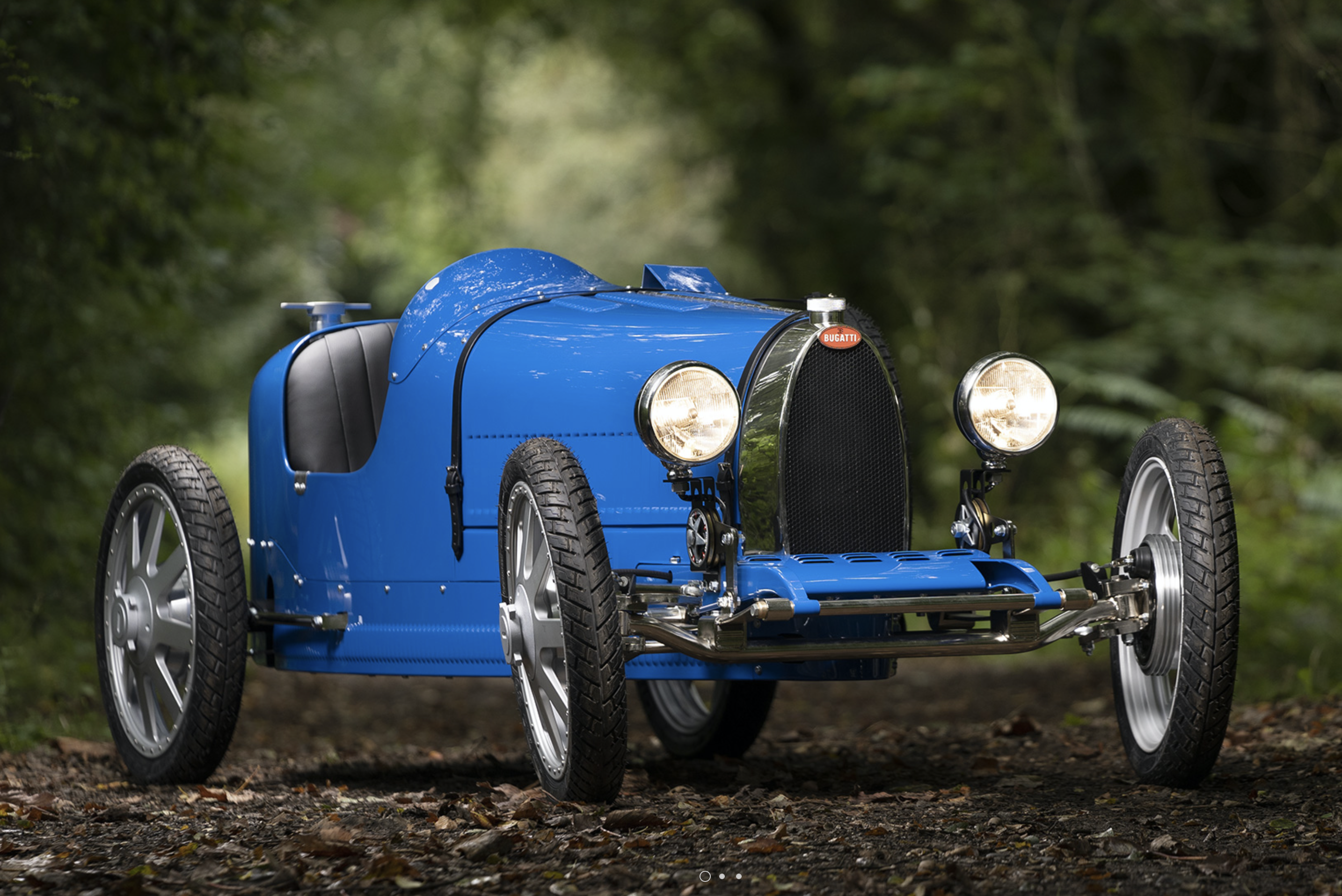 All-Electric Bugatti Baby To Cost $69K